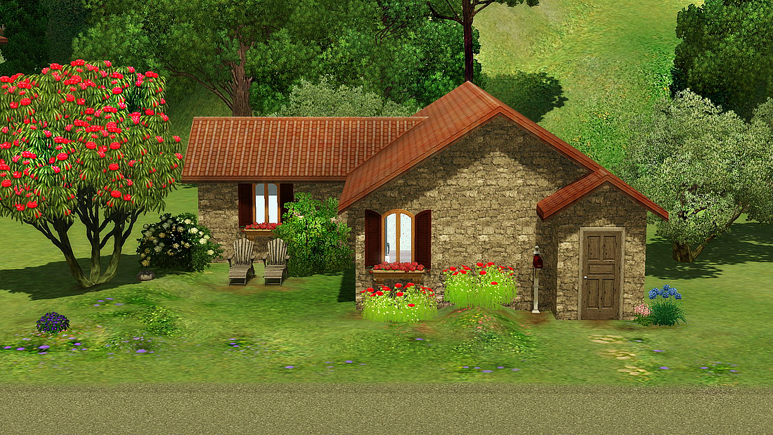 Vicenza starter terrain r sidentiel sims 3 - Telecharger meubles sims 3 ...