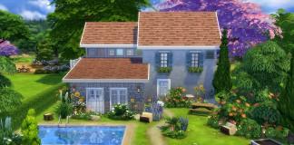 construction sims 4 maison