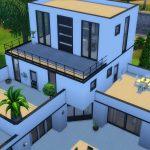 sims 4 maison moderne