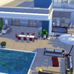 maison sims 4 luxe moderne