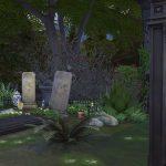 sims 4 cimetière