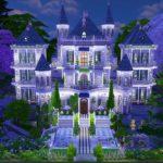 château sims 4 construction