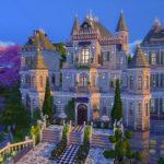 sims 4 castle