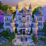 sims 4 château