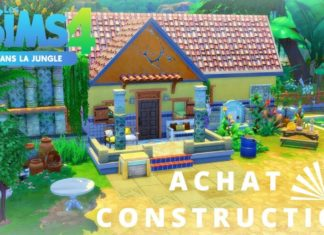 achat construction dans la jungle sims 4 selvadorada