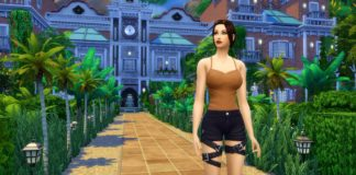 sims 4 construction Selvadorada jungle Croft Lara tomb raider