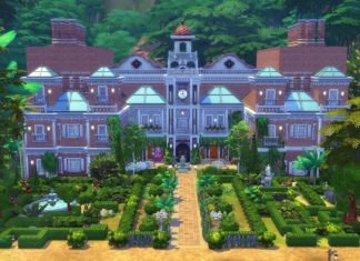 sims 4 construction Selvadorada croft manor Croft Lara tomb raider