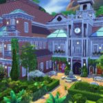 Croft Manor Sims 4