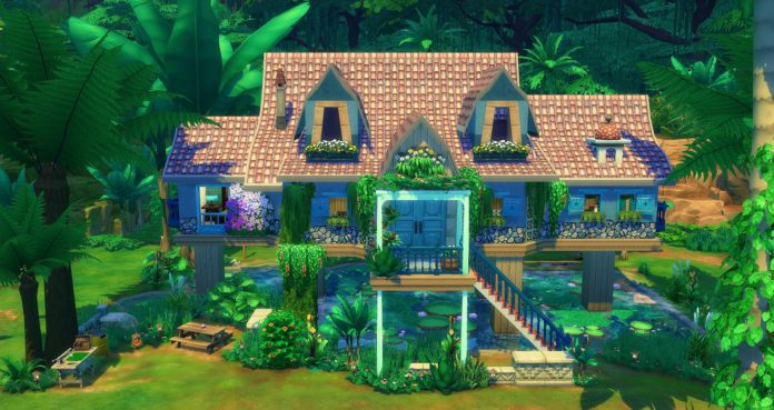 construction dans la jungle sims