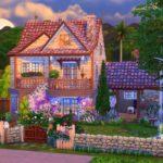 Lilas maison sims 4
