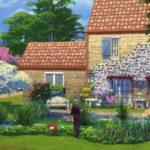 maison vieilles pierres sims 4
