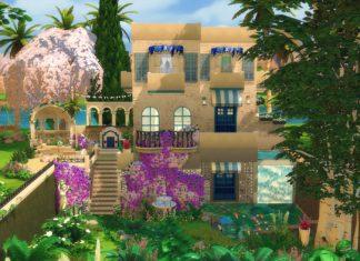 maison grecque sims 4