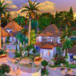 sims 4 parc paradis tropique