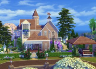 construction maison sims 4 diego
