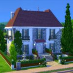 belle maison sims 4