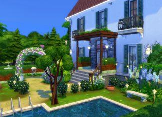 maison piscine sims 4