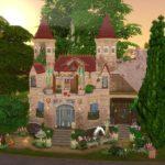 château Elven Sims 4