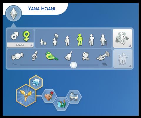 caractéristiques sims 4