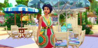 Yana Hoani sims 4 black