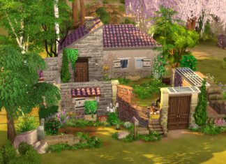sims 4 ruine camping téléchargement