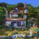 sims 4 maison Brindleton
