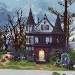 Electra sims 4 maison vampire