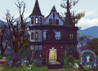 studiosimscreation vampire maison manoir