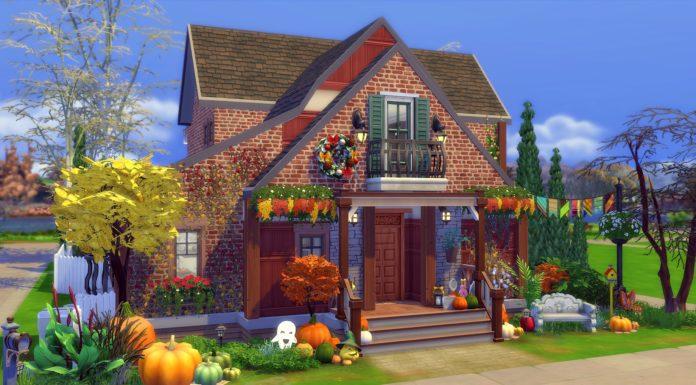 sims 4 maison automne