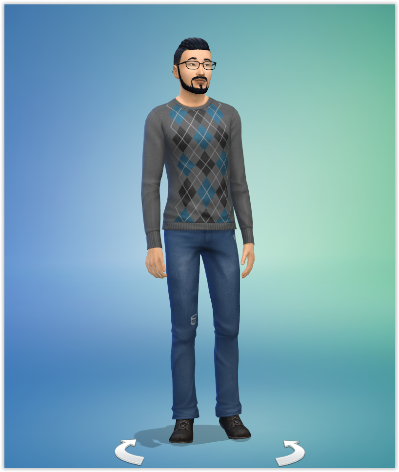 Sims 4 studiosimscreation Sam