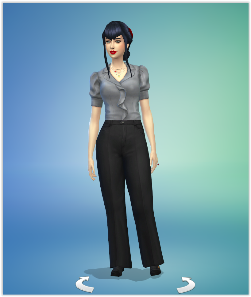 Mina Dracula Sims 4 Studiosimscreation