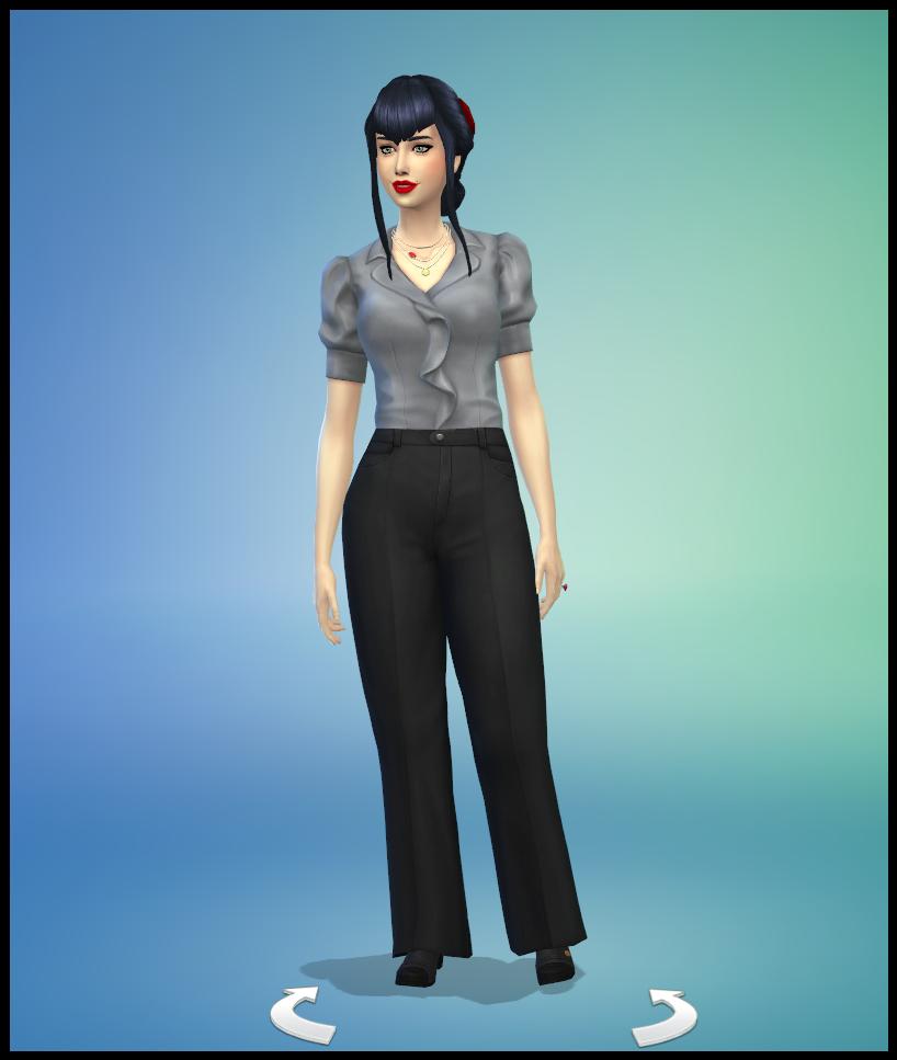 Mina Dracula Sims 4 Studiosimscreation