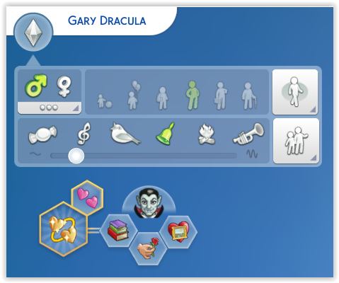 Gary Dracula télécharger sims 4 studiosimscreation