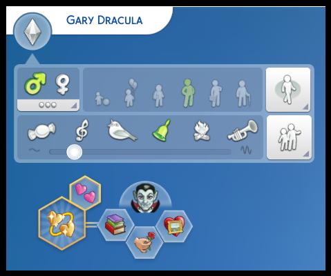 Gary Dracula télécharger sims 4 studiosimscreation