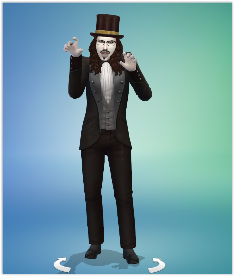 Gary Dracula Sims 4 Studiosimscreation