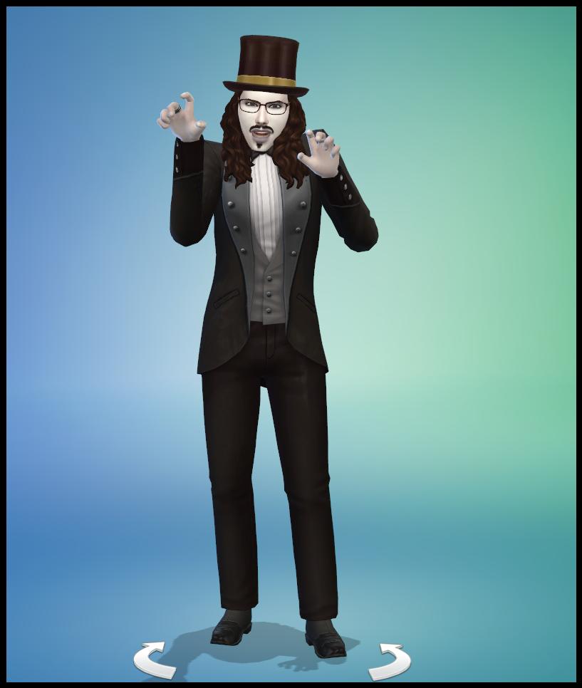 Gary Dracula Sims 4 Studiosimscreation