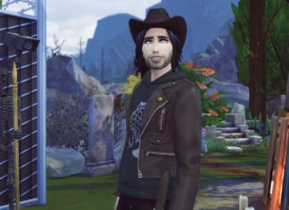Xander Desmond vampire sims 4 studiosimscreation