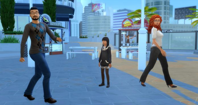 famille Lacity sims 4 studiosimscreation