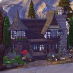 Sorcery maison sims 4 sorcière studiosimscreation