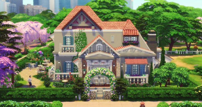 magnifique maison sims 4