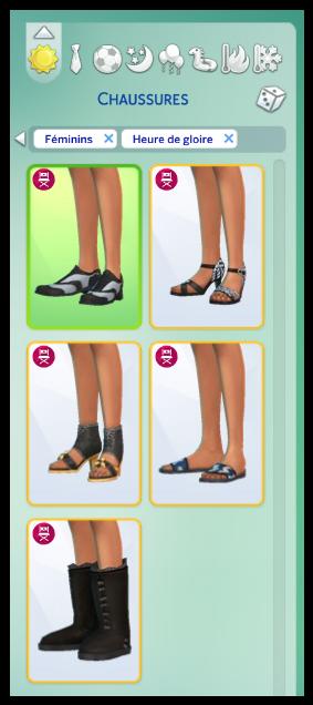 chaussures heure de gloire simette