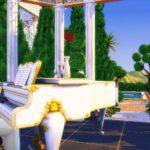 palace sims 4 piano