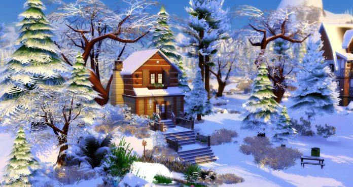 Chalet Cabane studiosimscreation sims 4