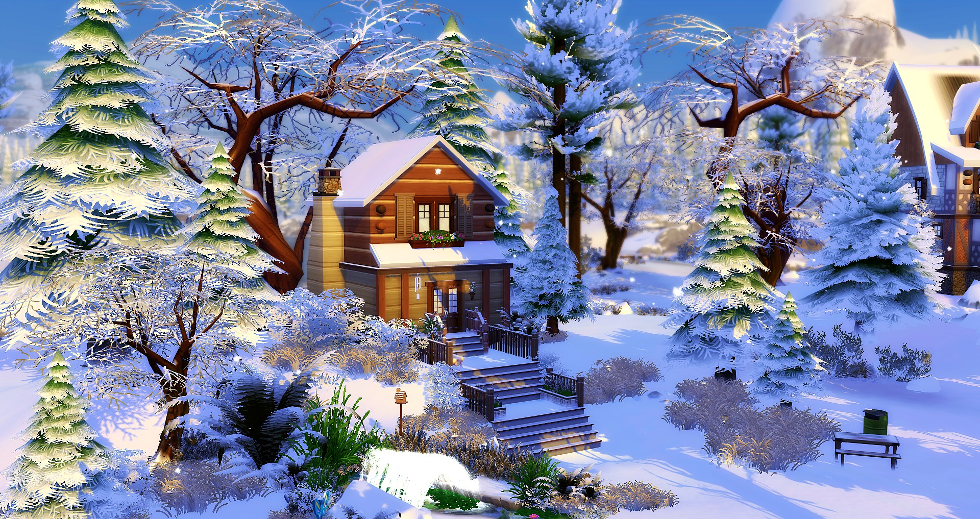 Chalet Cabane Studiosims Creation