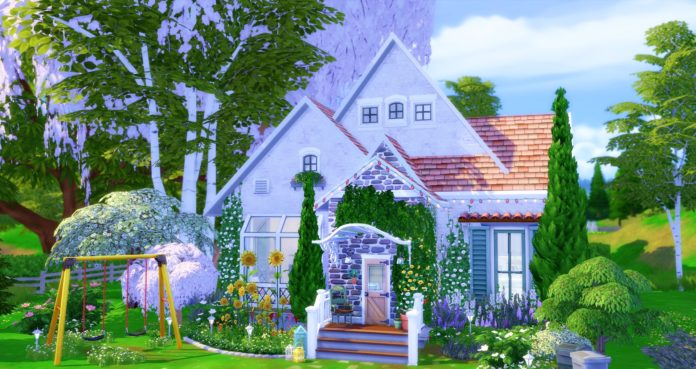 maison blanche studiosimscreation sims 4