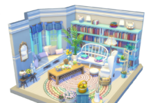 salon dollhouse sims 4