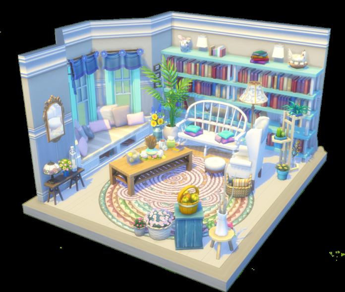 salon dollhouse sims 4