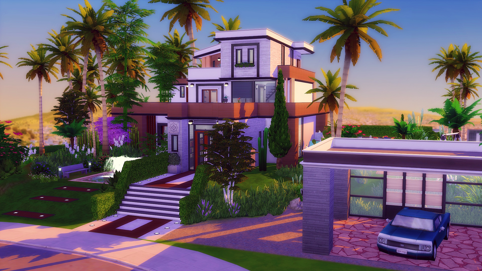 Maison Moderne Sims 4 Studiosims Creation