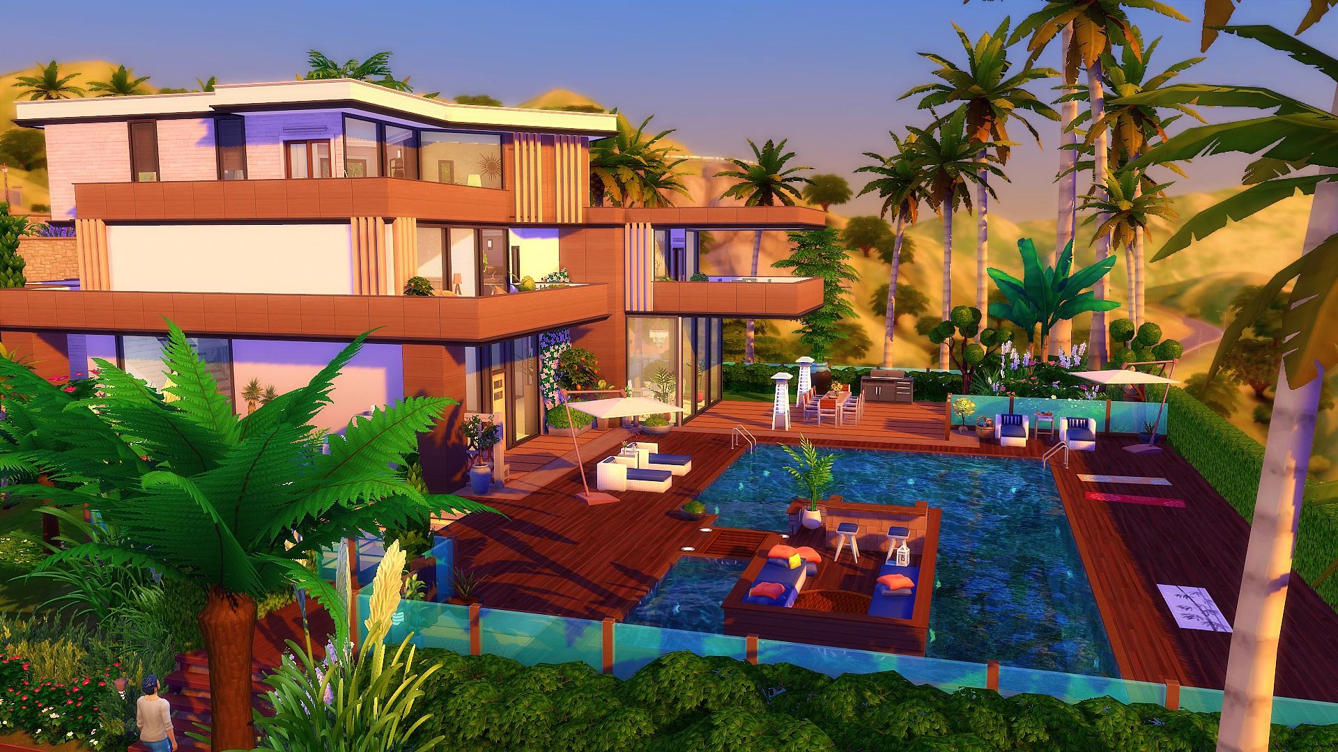 maison moderne sims 4 - StudioSims Creation