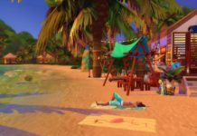 plage sims 4 beach coconut