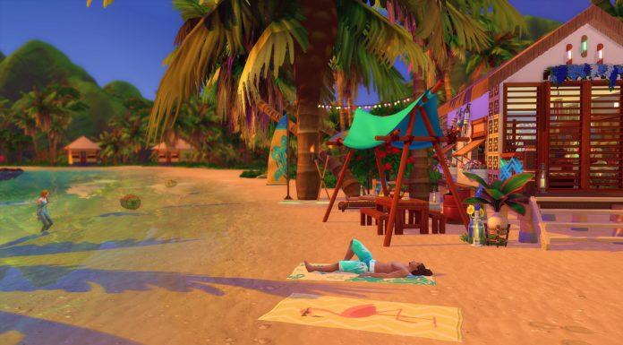 plage sims 4 beach coconut